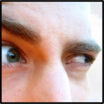 Suspicious eyes